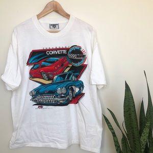 Chevrolet Corvette Vintage Car Shirt Vintage XL